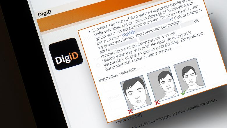 Fraudehelpdesk waarschuwt voor identiteitsfraude en oplichting namens 'DigiD': 'Kopie van uw legitimatiebewijs is ongeldig'