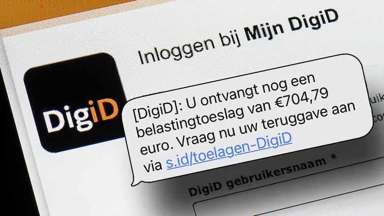 Omvangrijke phishing namens 'DigiD': Duo opgepakt wegens versturen 100.000 nep-berichten