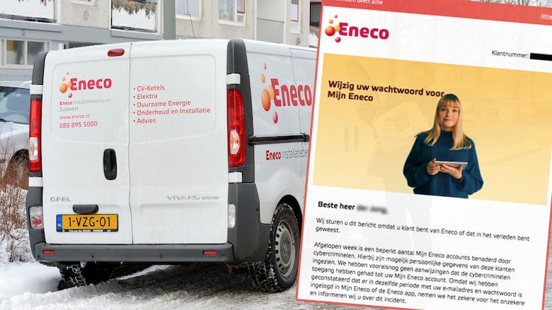 Eneco waarschuwt klanten voor datalek: 'Wijzig uw wachtwoord, mogelijk zijn persoonlijke gegevens ingezien'