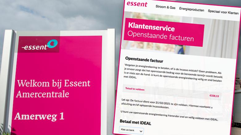 Levensechte spookfactuur namens Essent: 'Betaal uw openstaande factuur direct!'