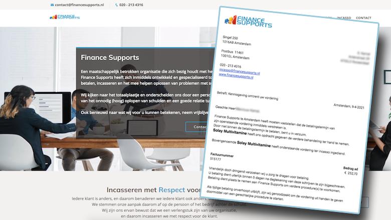 Oplichters van Finance Supports sturen spookfacturen en beslagleggingen per mail