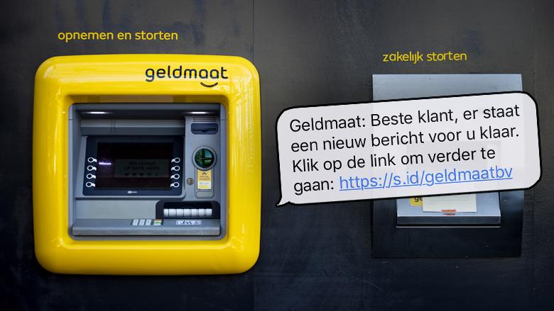 Oplichting en phishing via sms'jes van de 'Geldmaat': moet je een nieuwe bankpas aanvragen en de oude opsturen?