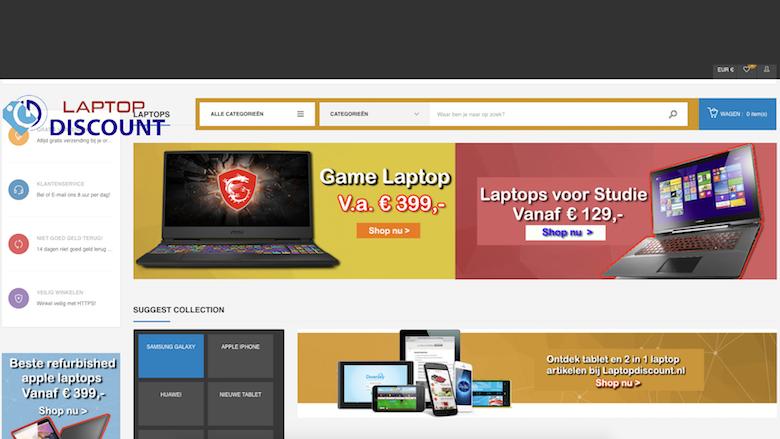 Politie waarschuwt voor onbetrouwbare webshops Laptopdiscount.net en Voordeligekoopjes.nl