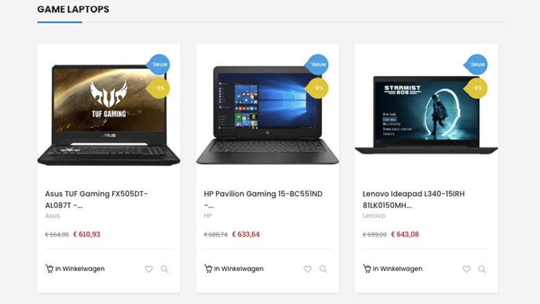 Laptop kopen? Niet bij de foute webshop Laptopdiscount.nl, aldus de politie