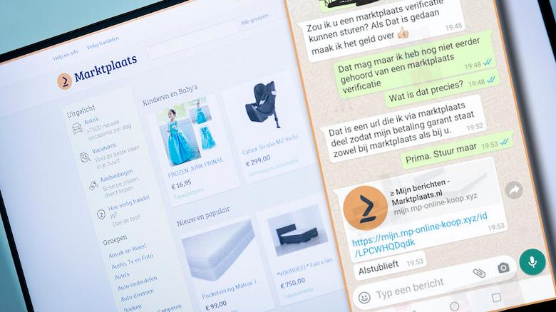 Oplichters actief op Marktplaats: verificatieverzoek is gevaarlijke phishing