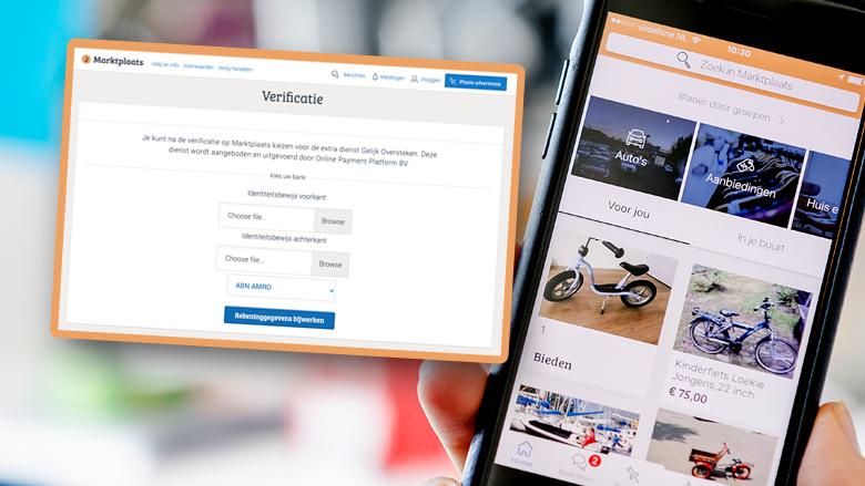Pas op voor nieuwe Marktplaats-oplichtingstruc: combinatie van identiteitsfraude én phishing door nep-verificatie