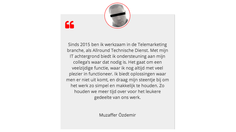 Screenshot van Mslcall.nl