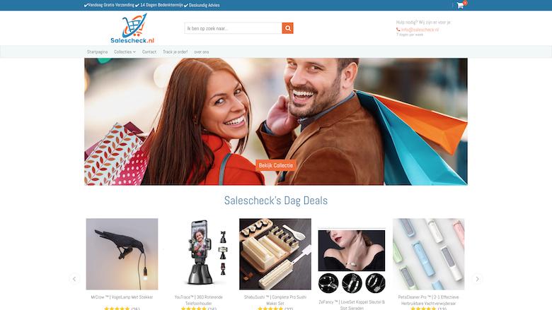 'Koop niet bij salescheck.nl', waarschuwt politie