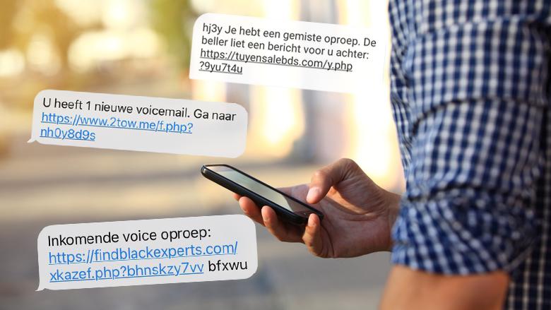 Sms'jes over gemiste voicemails of niet-afgeleverde pakketten: wat zit erachter en is het oplichting?