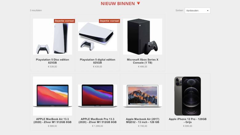 Onbetrouwbare webshop Voordeligekoopjes.nl