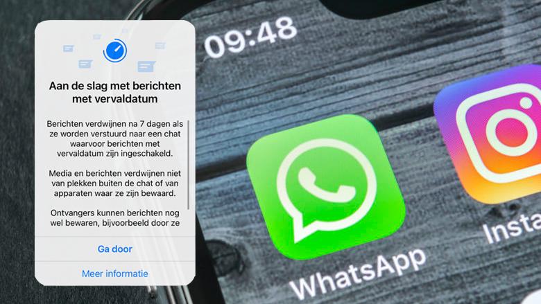 WhatsApp-berichten automatisch verwijderen na zeven dagen: hoe moet je dat instellen en wat zijn de risico's?