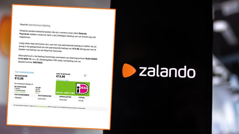 Oplichtingstruc namens Zalando: betalingsherinnering in valse e-mail is een poging tot phishing