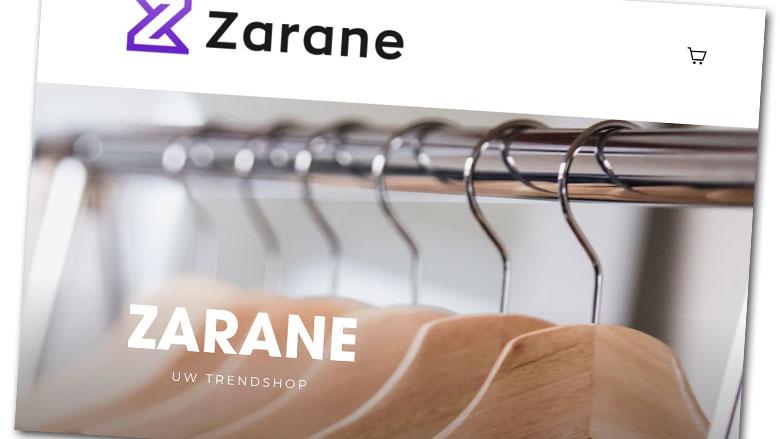 Let op: koop geen nieuwe outfit bij Zarane.nl