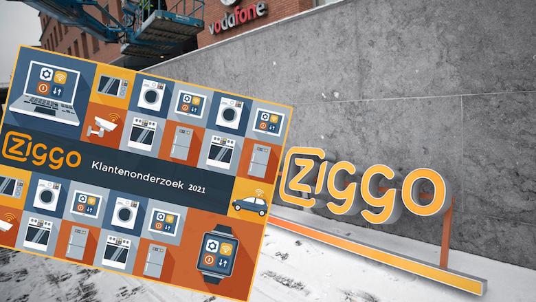 'Ziggo klantenonderzoek 2021', is deze mail van oplichters?
